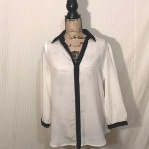 The limited sheer blouse